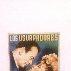 Cine: LOS USURPADORES - MARLENE DIETRICH / JOHN WAYNE - PROGRAMA DE MANO CON PUBLICIDAD AL DORSO. Lote 141689289