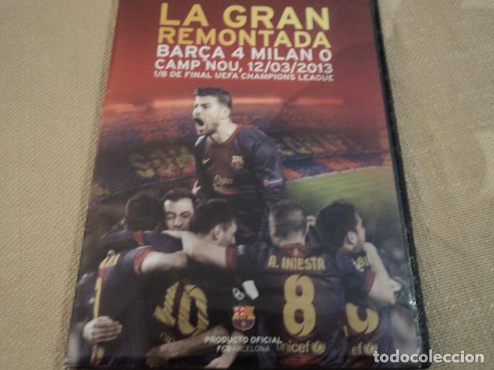 LA GRAN REMONTADA. BARÇA 4 - MILAN 0. CAMP NOU 12/03/2103. 1/8 DE FINAL UEFA OFICIAL FCB (Cine - Folletos de Mano - Deportes)