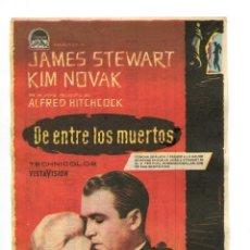 Cine: DE ENTRE LOS MUERTOS, CON JAMES STEWART. C/I.. Lote 142931713