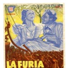 Cine: LA FURIA DEL ORO NEGRO, CON RANDOLPF SCOTT. C/I.. Lote 140837210