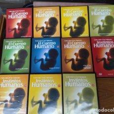 Flyers Publicitaires de films Anciens: EL CUERPO HUMANO.COLECCION BBC DVD. Lote 140863330