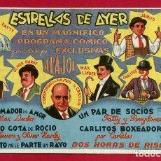 Cine: ESTRELLAS DE AYER, ARAJOL , ORIGINAL , PM10975. Lote 140884050