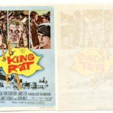 Cine: KING RAT, CON GEORGE SEGAL. S/I.. Lote 171714890