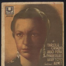 Cine: P-4650- LA MALQUERIDA (TARSILA CRIADO - JULIO PEÑA - JESÚS TORDESILLAS - LUCHY SOTO - ANTONIO ARMET). Lote 141341893