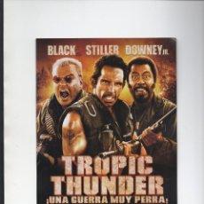 Cine: TROPIC THUNDER. Lote 187641443