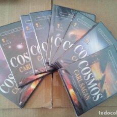 Cine: COSMOS DE CARL SAGAN 10 DVD DVDS PRECINTADOS. Lote 141895482