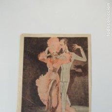 Folhetos de mão de filmes antigos de cinema: SAMBA - FOLLETO DE MANO - CARICAFOTO - CARMEN MIRANDA BASIL RATHBONE . Lote 141935190