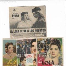 Cine: LA LOLA SE VA A LOS PUERTOS. Lote 141969394