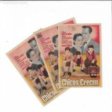 Cine: LOS CHICOS CRECEN ( VARIANTES DE DISTRIBUIDORA ). Lote 142112146