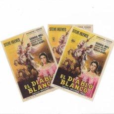 Cine: EL DIABLO BLANCO ( DIFERENTES DISTRIBUIDORAS Nº2 ). Lote 142112610