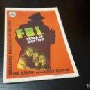 Cine: PROGRAMA DE MANO ORIG - FBI ENTRA EN ACCION - CINE CUMBRE. Lote 142293006