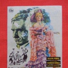 Cine: ADIOS MIMI POMPON, IMPECABLE SENCILLO, F. FERRAN GOMEZ, CON PUBLI MODERNO 1961. Lote 142807166