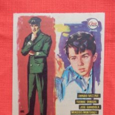 Cine: CAFE DEL PUERTO, SENCILLO EXCTE. ESTADO, JOSE GUARDIOLA, CON PUBLI TARRAGONA 1959. Lote 142808326