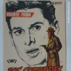 Cine: PROGRAMA DE CINE. LOS COBARDES. SIN PUBLICIDAD.. Lote 142861050