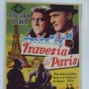 Cine: PROGRAMA DE CINE. TRAVESÍA DE PARIS. SIN PUBLICIDAD.. Lote 142861614