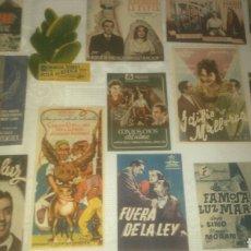 Cine: PROGRAMAS DE CINE, CIFESA, HISPANIA TOBIS, FILMOFONO, HIBERO FILMS, EXCELSA. SIN PUBLICIDAD.. Lote 143063673