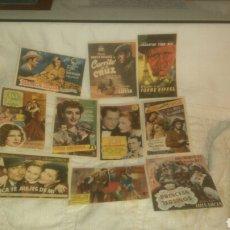 Cine: PROGRAMAS DE CINE LICEO. DE 1944 A 1950.. Lote 143096510