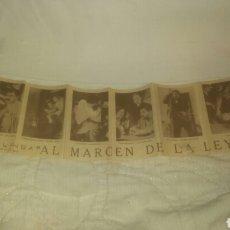 Cine: PROGRAMA DE CINE. AL MARGEN DE LA LEY.. Lote 143104864