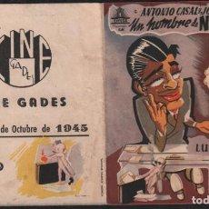 Cine: UN HOMBRE DE NEGOCIOS - PROGRAMA DOBLE DE CIFESA CON PUBLICIDAD RF-1905. Lote 143130834