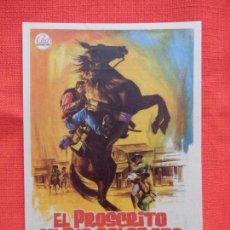 Cine: EL PROSCRITO DEL RIO COLORADO, IMPECABLE SENCILLO, GEORGE MONTGOMERY, C/P CASAL PARROQUIAL MOLLERUSA. Lote 143181622