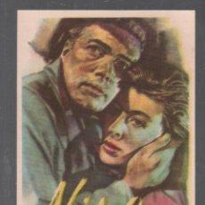 Cine: NINA - PROGRAMA SENCILLO CON PUBLICIDAD , RF-1933 , PERFECTO ESTADO. Lote 143573902
