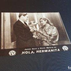 Cine: PROGRAMA DE MANO ORIG - HOLA , HERMANITA - SIN CINE. Lote 143710410