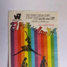 Cine: FOLLETO DE MANO - EL VALLE DEL ARCO IRIS. Lote 143710890