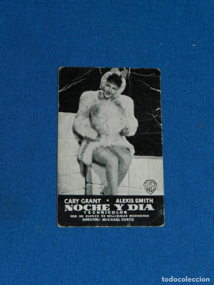 PROGRAMA DE MANO - NOCHE Y DIA - CARY GRANT , ELEXIS SMITH , SEÑALES DE USO (Cine - Folletos de Mano - Comedia)