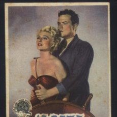 Cine: P-6743- LA DAMA DE SHANGAI (THE LADY FROM SHANGHAI) ORSON WELLES - RITA HAYWORTH - EVERETT SLOANE. Lote 143778326