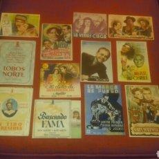 Cine: PROGRAMAS DE CINE. DISTRIBUIDORA BALLESTEROS, FILMOFONO, CIFESA, ETC.... Lote 143849286