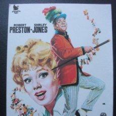 Foglietti di film di film antichi di cinema: VIVIR DE ILUSIÓN, ROBERT PRESTON, SHIRLEY JONES. Lote 143893390