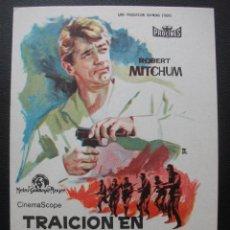 Cine: TRAICIÓN EN ATENAS, ROBERT MITCHUM. Lote 143902634