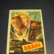 Cine: DANAE - CINE GOYA , ZARAGOZA. Lote 143918214