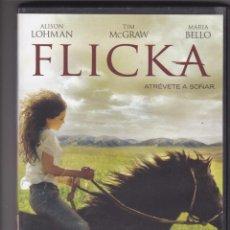 Cine: FLICKA,B.S.O.DVD DEL 2007. Lote 191278400