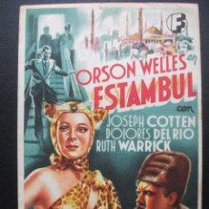 Cine: ESTAMBUL, ORSON WELLES. Lote 143920762