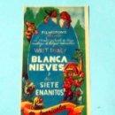 Cine: BLANCA NIEVES Y LOS SIETE ENANITOS -DOBLE CARA - WALT DISNEY - . Lote 143924842