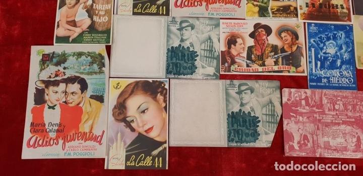Cine: COLECCIÓN DE 69 FOLLETOS DE MANO. PROGRAMAS DE CINE. CIRCA 1950. - Foto 5 - 144109066
