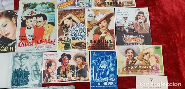 Cine: COLECCIÓN DE 69 FOLLETOS DE MANO. PROGRAMAS DE CINE. CIRCA 1950. - Foto 6 - 144109066