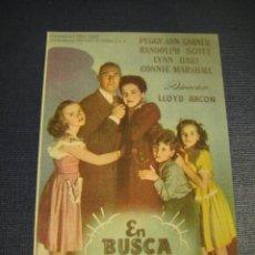 Cine: EN BUSCA DEL ASESINO - SIN PUBLICIDAD. Lote 144155038