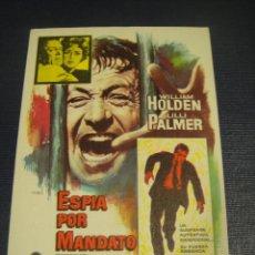 Cine: ESPIA POR MANDATO - CINE COLISEO , ZARAGOZA. Lote 144155190