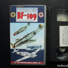 Cine: VHS MESSERSCHMITT BF- 109. KALENDER VIDEO. AVIACIÓN LUFTWAFFE. Lote 144316578