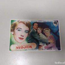 Folhetos de mão de filmes antigos de cinema: 1218- PROGRAMA DE CINE AÑOS 40/50 LA SEGUNDA MUJER ROBERT YOUNG LORENZO CORUÑA . Lote 144352254