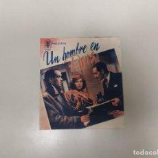 Folhetos de mão de filmes antigos de cinema: 1218- PROGRAMA DE CINE AÑOS 40/50 UN HOMBRE EN PARIS VALERIE HOBSON CINE YA VOY . Lote 144354054