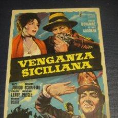 Cine: VENGANZA SICILIANA - IMPERIAL CINEMA , CALLOSA. Lote 144535830