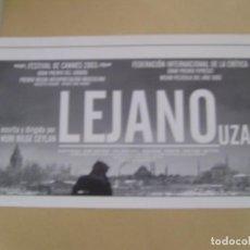 Cine: LEJANO. Lote 144603630