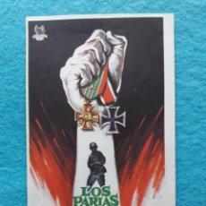Cine: LOS PARIAS DE LA GLORIA. AÑO 1964. CURD JURGENS, MAURICE RONET, FOLCO LULLI, GERMAN COBOS.. Lote 144615886