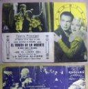 Cine: PROGRAMA DE CINE DOBLE EL VAGON DE LA MUERTE PUBLICIDAD 1936 TEATRO PRINCIPAL. Lote 144748574