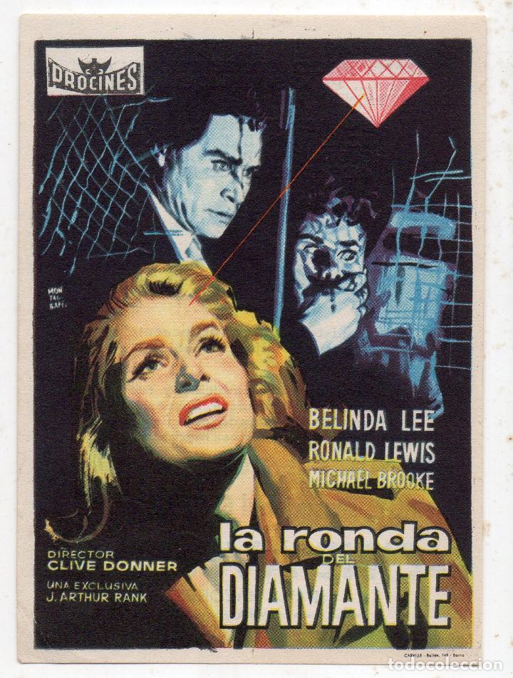 LA RONDA DEL DIAMANTE. AÑO 1960. BELINDA LEE, RONALD LEWIS, MICHAEL BROOKE... (Cine - Folletos de Mano - Acción)