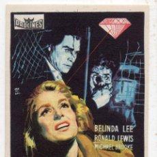 Cine: LA RONDA DEL DIAMANTE. AÑO 1960. BELINDA LEE, RONALD LEWIS, MICHAEL BROOKE.... Lote 144986386