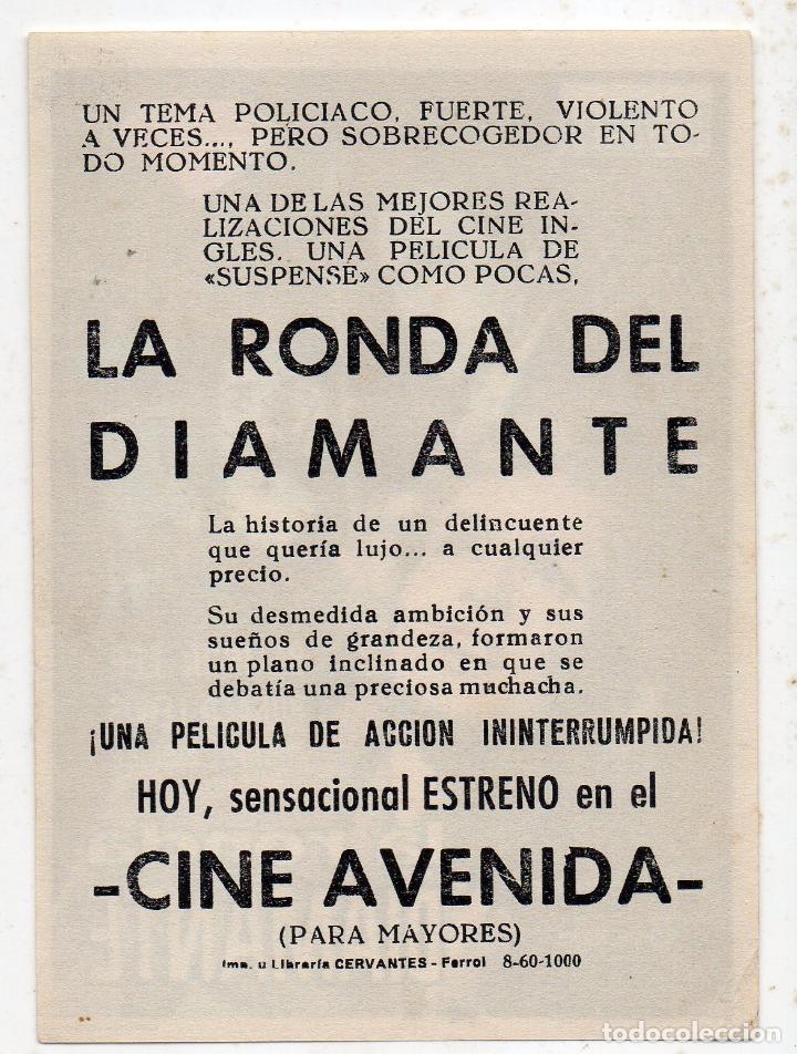 Cine: La Ronda del Diamante. Año 1960. Belinda Lee, Ronald Lewis, Michael Brooke... - Foto 2 - 144986386
